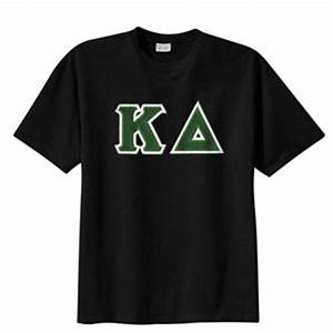 Kappa delta sewn on greek letter t shirt kappa delta for Kappa delta letter shirts