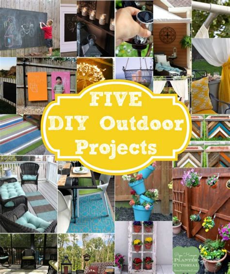 outdoor project ideas home stories