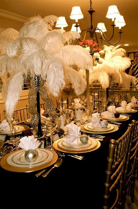 40 great gatsby decorations ideas oosile - Great Gatsby Decorations