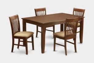 5 piece formal dining room set dinette table and 4 dinette