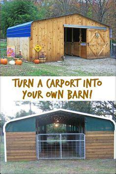 turn  cheap carport   awesome barn