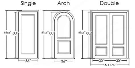 standard size  doors  windows quora