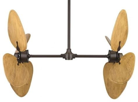 dual motor ceiling fan fanimation fp240ob 220 bronze dual motor ceiling fan