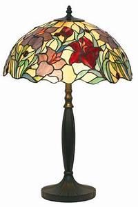 Lampe Galet Grand Modele : orchid e lampe style tiffany rouge grand mod le par artistar r f 11100130 ~ Teatrodelosmanantiales.com Idées de Décoration