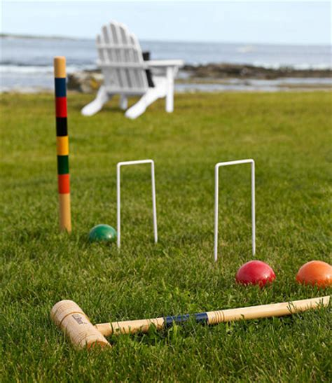 Backyard Croquet by Croquet Set Traditional Outdoor And Lawn By L