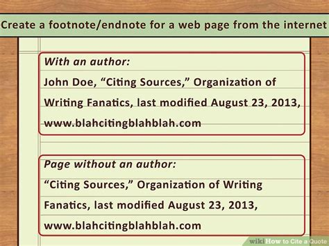 easy ways  cite  quote  pictures wikihow