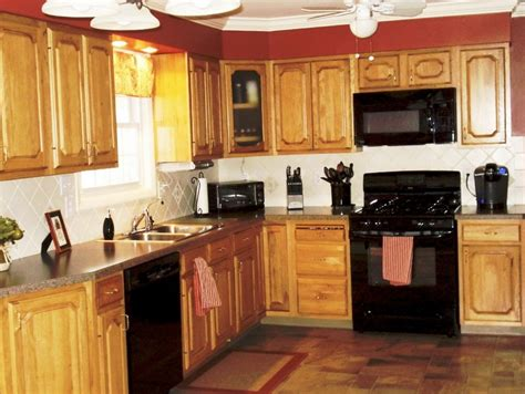 ideas for kitchen colours to paint what color to paint kitchen cabinets with black appliances