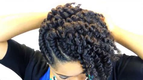 Natural Hair Protective Hairstyle   feat. 15 Melbourne