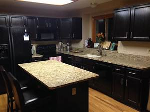 painting oak kitchen cabinets dark savaeorg With what kind of paint to use on kitchen cabinets for inspiring wall art