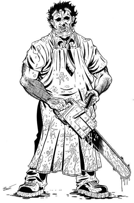 Freddy Krueger Full Body - Free Coloring Pages