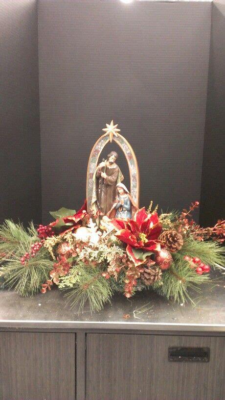 nativity tabletop robin evans  designs