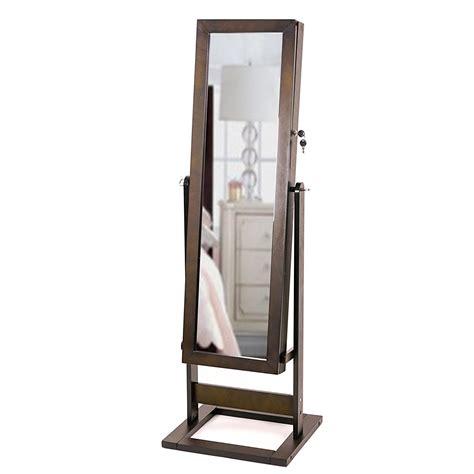 length mirror jewelry armoire 25 beautiful length jewelry armoires zen merchandiser
