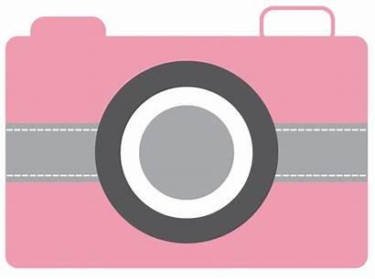 Camera Clip Clipart Pink Designerclipart Cameras Cliparts