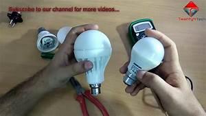 Led Bulb Repair In Hindi - How To Repair Led Bulb At Home