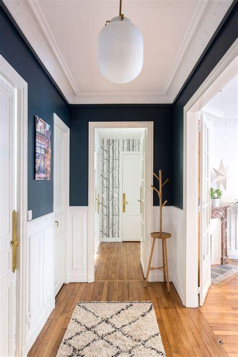 couloir astuces deco peinture papier peint walls