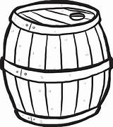 Barrel Cartoon Wooden Clipart Vector Keg Drawn Hand Illustration Clip Alcohol Cliparts Beer Sketch Wood Background Coloring Library Antique Isolated sketch template