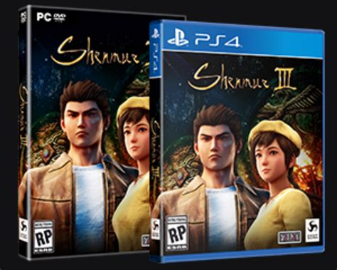 Image Shenmue 3 Official Box Art By Deep Silver Ps4