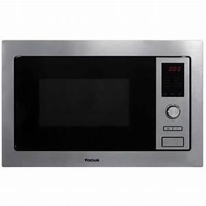 Micro Onde Grill Encastrable : micro onde grill encastrable focus f25x 25l inox 39 cm ~ Dailycaller-alerts.com Idées de Décoration