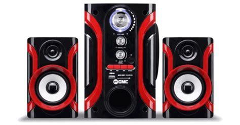 speaker aktif gmc 888l bluetooth terbaru