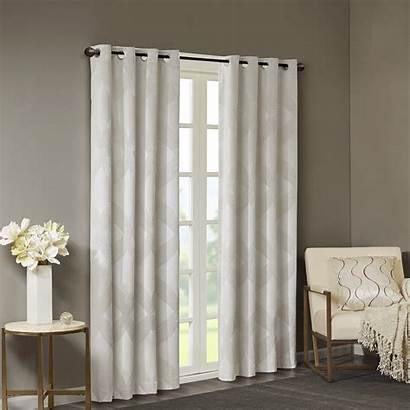 Grommet Panels Ivory Blackout Curtains Window Panel