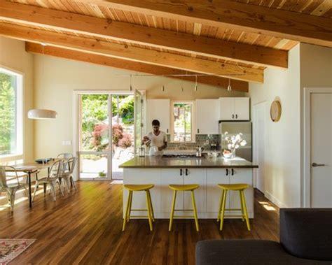 open floor plan  small kitchen home design ideas