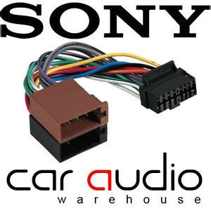 Connects Ctso Sony Pin Iso Car Stereo Radio Wiring