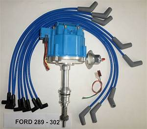 Ford Small Block 221 260 289  U0026 302 Blue Hei Distributor