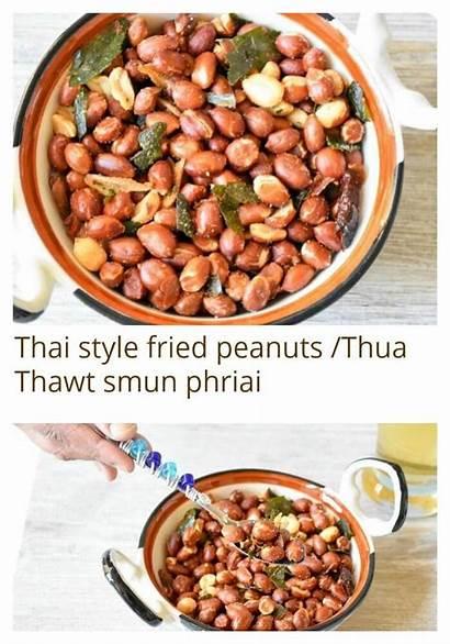 Snack Fried Peanuts Garlic Recipes Lemon Appetizer