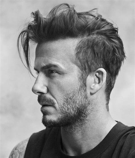Cool David Beckham Haircut & Hairstyles 2016