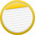 Icon Note Circle Bubble Notes Icons Sizes