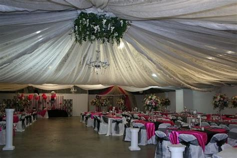 do it yourself ceiling draping party invitations ideas