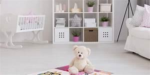 Mädchen Zimmer Baby : der kinderteppich lila begeistert im m dchenzimmer ~ Markanthonyermac.com Haus und Dekorationen