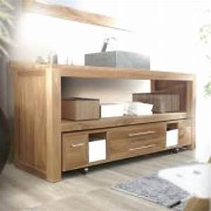 fabriquer meuble salle de bain palette With salle de bain design avec meuble en bois pour salle de bain