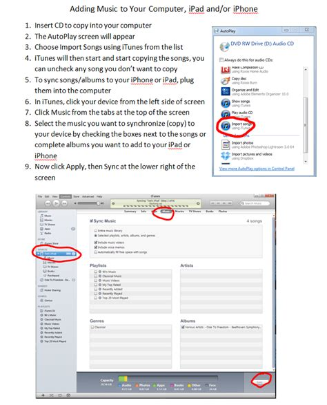 how to put cd on iphone how to add new to itunes then sync to ipod or