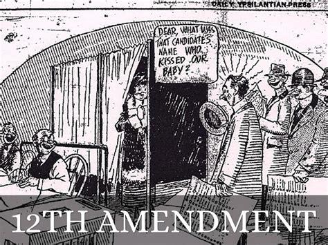 12th Amendment Drawing