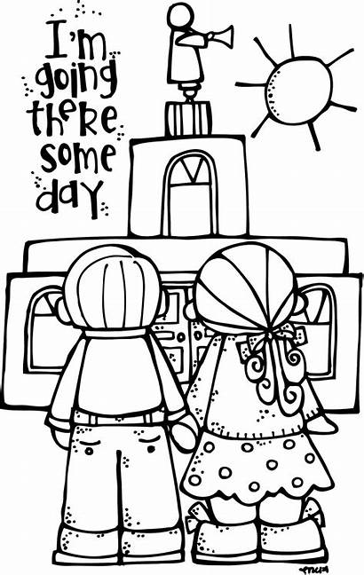 Lds Melonheadz Coloring Pages Temple Primary Illustrating