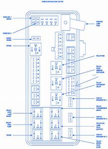 Dodge Magnum 2005 Fuse Box  Block Circuit Breaker Diagram