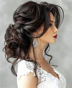 Unique Hairstyles For Long Hair Wedding Party Easy