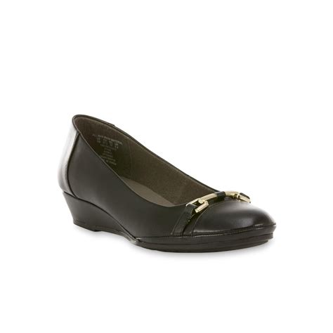 i comfort shoes at sears i comfort s bowie black wedge shoe