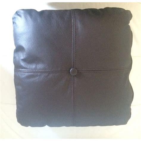 coussin pour canap cuir coussin personnalisé en simili cuir cuir pour votre