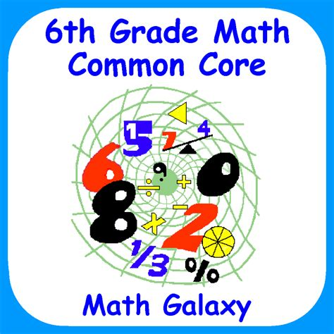 6th Grade Math Common Core Review  Educational App Store