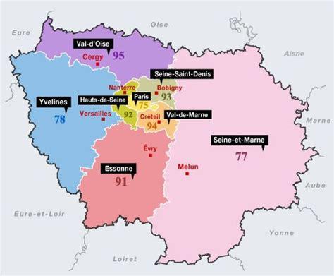Carte Departement Parisien d 233 partement 75 carte de