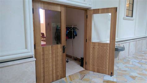 commercial custom wood and bronze doors seattle wa