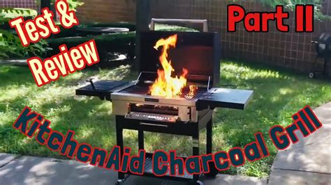 kitchenaid charcoal grill test review part