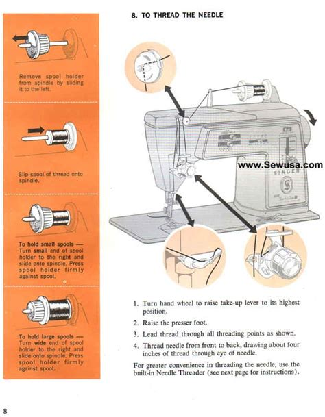 sewing machine singer singer 620 sewing machine threading diagram