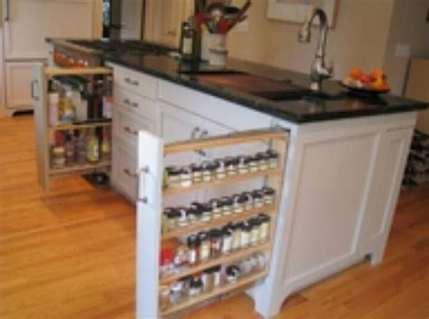 Spice Island Spice Rack by Space Spice Pull Out Of Cabinet Repurposed Items