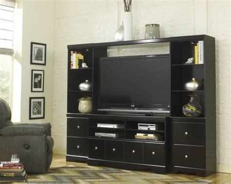shay black wood entertainment centers entertainment