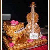 Musique Arrivée Gateau Mariage : gateau mariage piece montee musique instrument guitare piano choux pastry heart in 2019 ~ Melissatoandfro.com Idées de Décoration