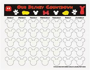 countdown calendar printable calendar template With countdown chart template