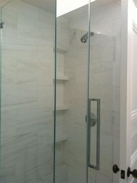 bianco dolomite tile shower walls marsh
